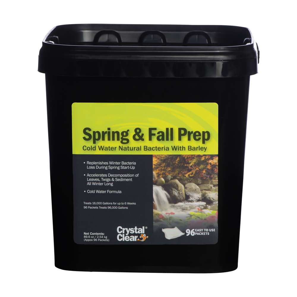 Crystal Clear Spring And Fall Prep 96 Pack Sheerwater Pond Supply