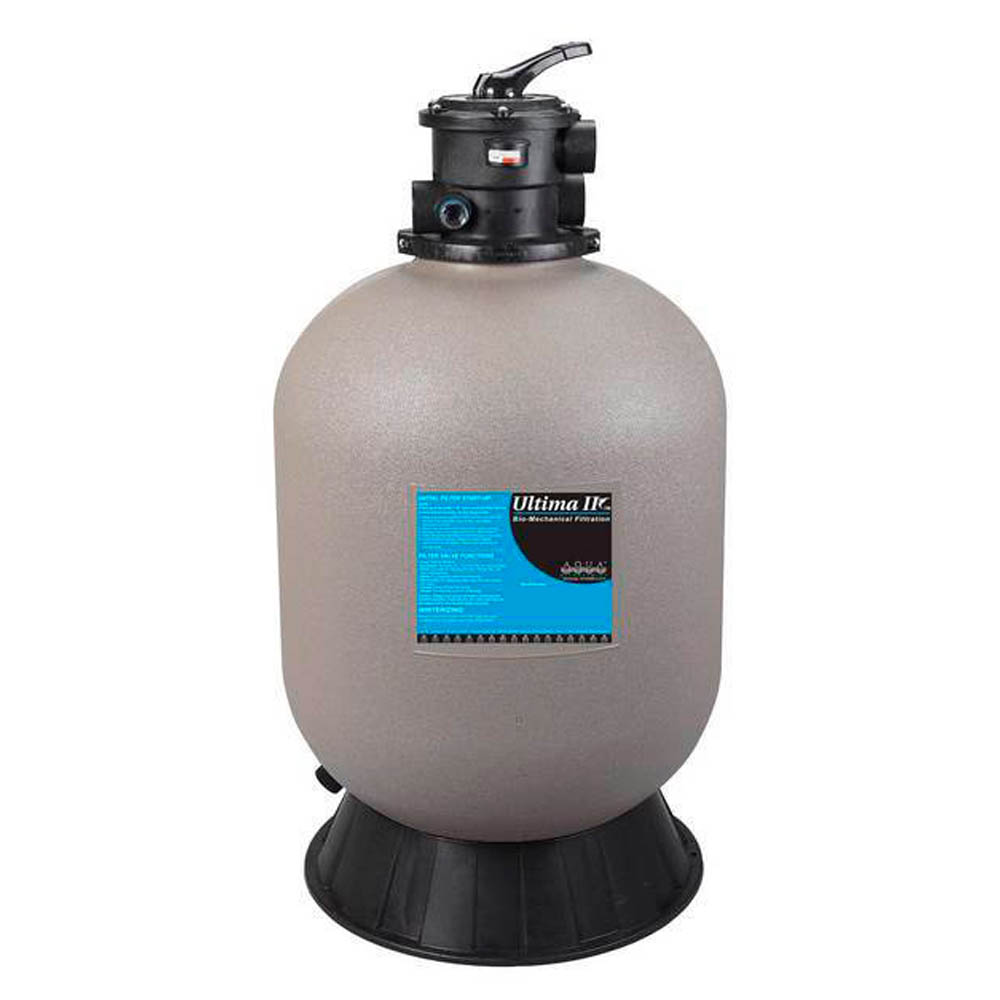 Aqua uv ultima ii filter 6000 2 valve sheerwater for Mechanical pond filter