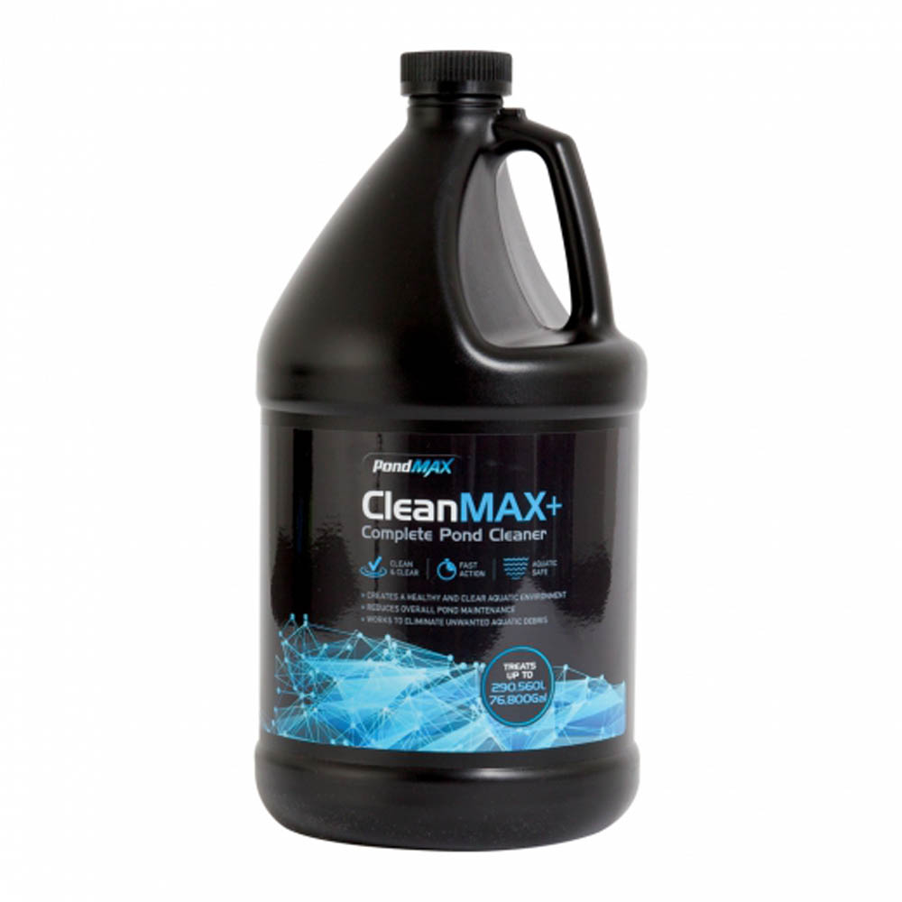 Pondmax cleanmax complete pond cleaner 1gal for Pond cleaner