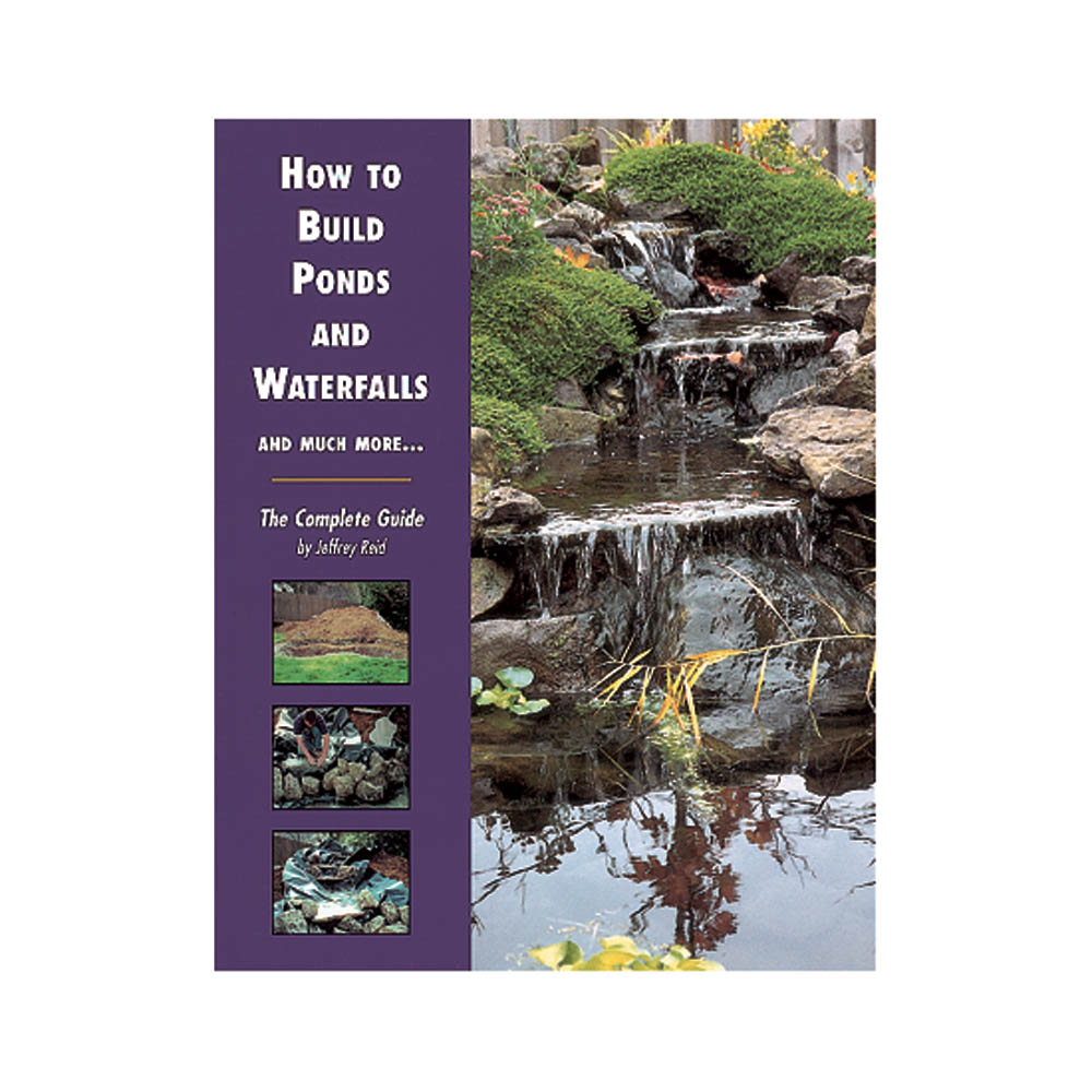 Tetra How To Build Ponds Waterfalls Much More The