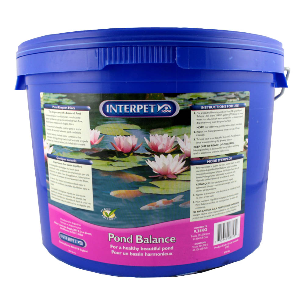 Pond filtration pond care products sheerwater pond supply for Pond care supplies