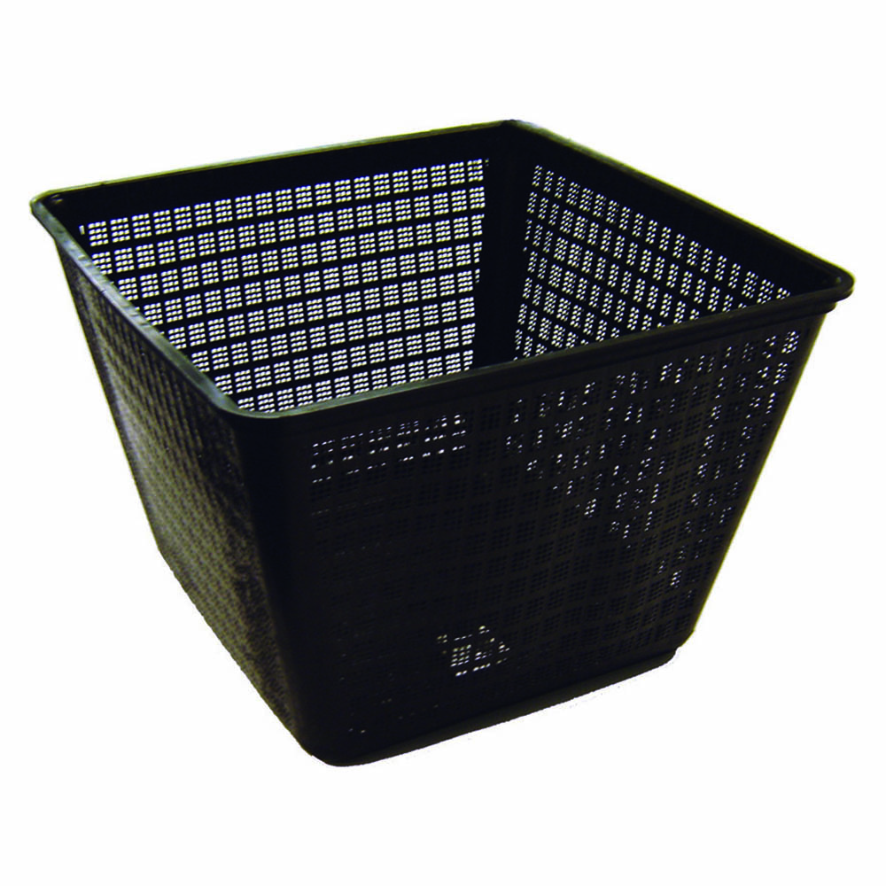 Planting basket 12 large square sheerwater pond supply for Pond filter basket