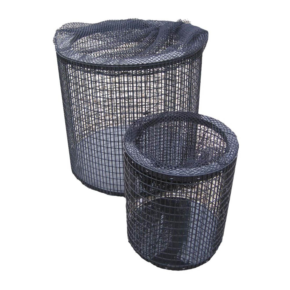Pump screens large pump cage sheerwater pond supply for Pond filter basket